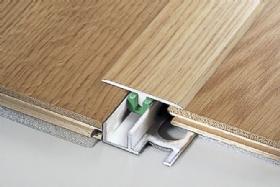 Προφίλ αλουμινίου για ξύλινα και laminated δάπεδα