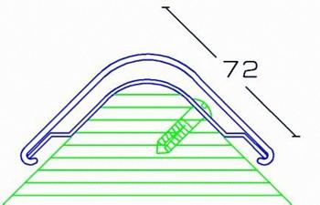 Προστατευτικό γωνιών με μεταλλική βάση ZKNL ZK-J