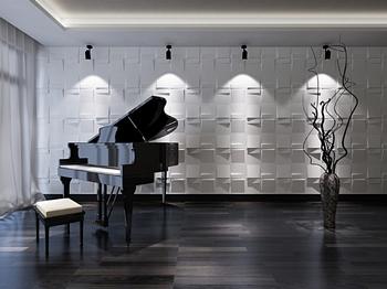Reflection 500x500 Τρισδιάστατη επένδυση τοίχων.