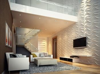 Sea 500x500 Τρισδιάστατη επένδυση τοίχων.
