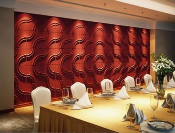 Circle 500x500 Τρισδιάστατη επένδυση τοίχου.