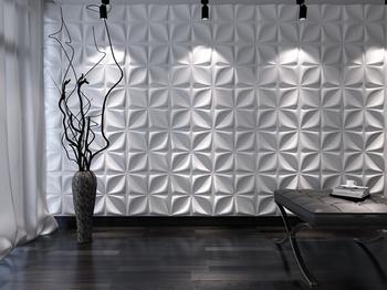 Flower 500x500 Τρισδιάστατη επένδυση τοίχου